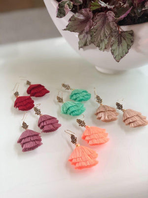 'La mano de Fátima'  Mexican Earrings