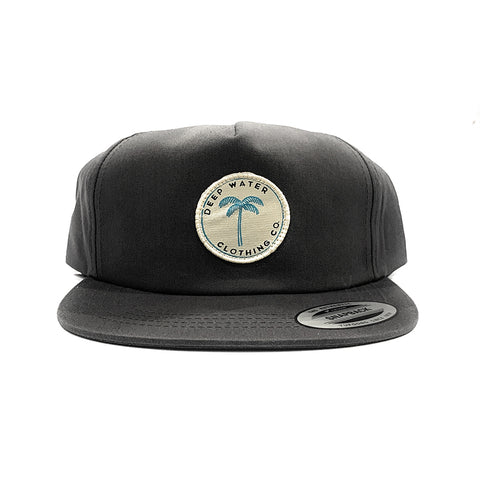 """PARADISE"" Unstructured Grey SnapBack"