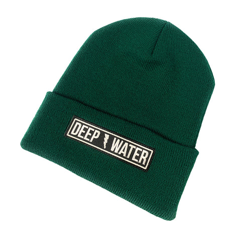 """Thunderstruck: Kelly Green Cuffed Beanie"
