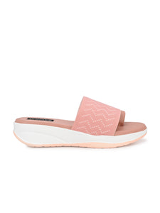 Pink Mesh Net Grip Ring Half Wedges