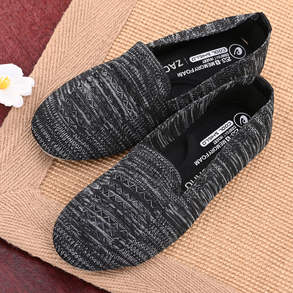 Black Memory Foam Knitted Bellies