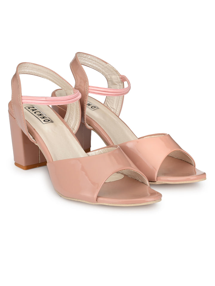 awesome peep-toe pumps - Zachho