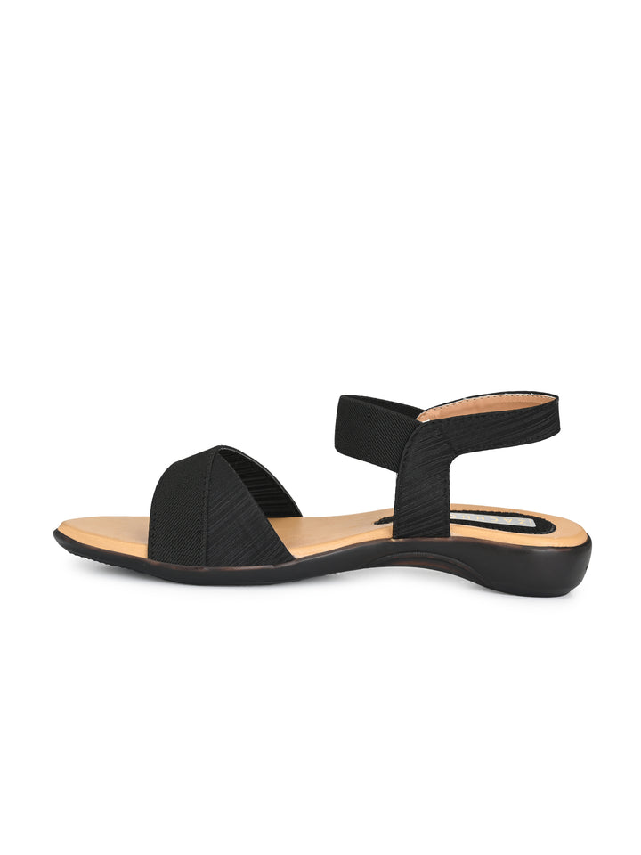 cross-over leatherette back-strap casuals - Zachho