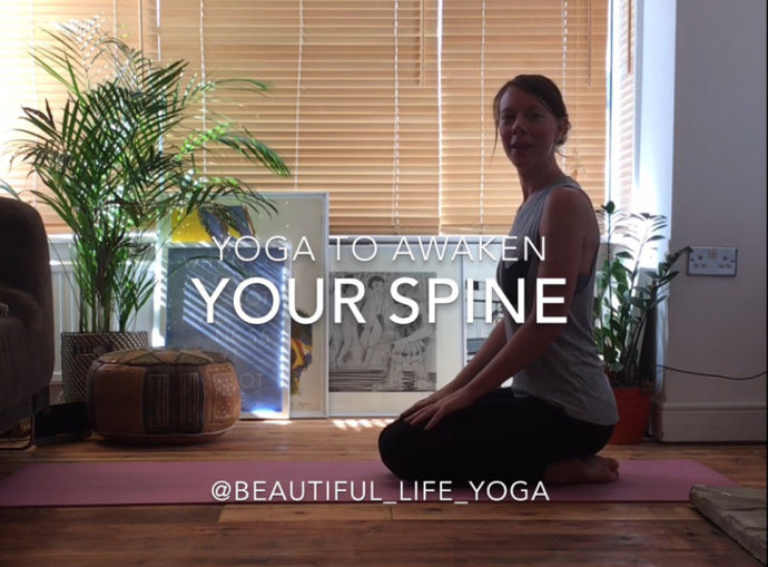 Awaken your spine - a slow and gentle yoga class