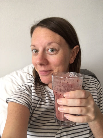 DIY placenta smoothie