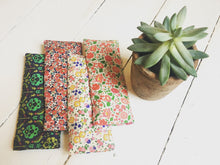 Liberty print lavender & flaxseed eye pillow