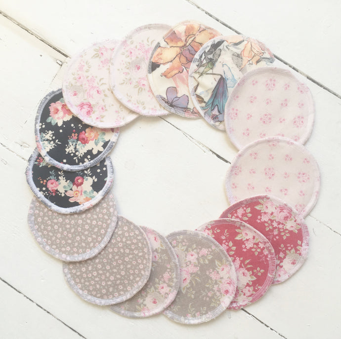 Reusable handmade breastpads
