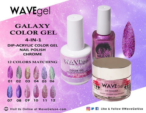 Wave Gel Galaxy 3-in-1 Collection