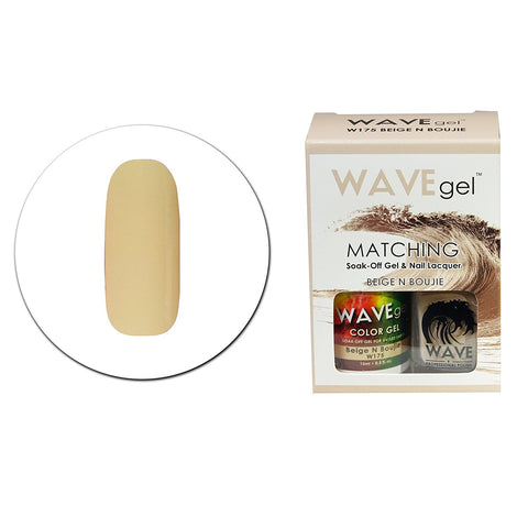 Beige N Boujie Matching Polish W175 - The Nail Art Connection by Tess Walters - Tess Nails.com