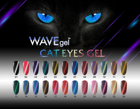 WaveGel Cat Eyes Collection - The Nail Art Connection by Tess Walters - Tess Nails.com
