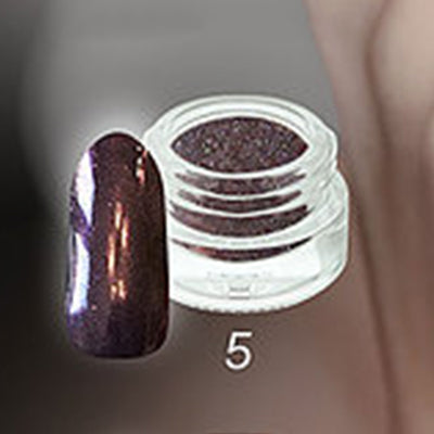 Chrome Metal 5 Finish - The Nail Art Connection by Tess Walters - Tess Nails.com