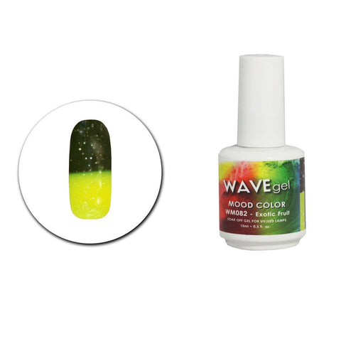 Exotic Fruit Mood Gel Polish WM082 - The Nail Art Connection by Tess Walters - Tess Nails.com