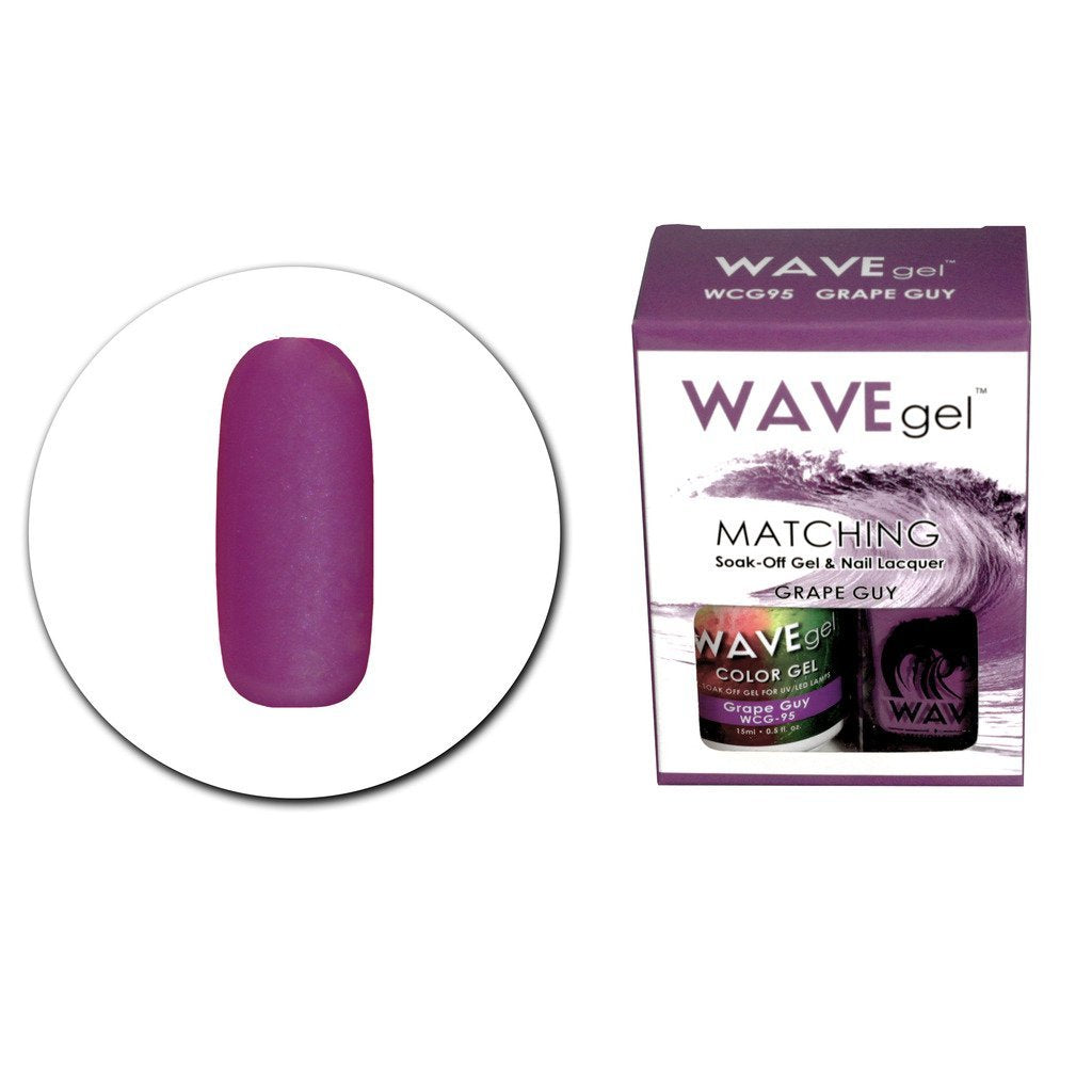Grape Guy Matching Polish WCG95 - The Nail Art Connection by Tess Walters - Tess Nails.com