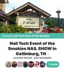 The Nail Tech Event Of The Smokies Class with Tess Walters - The Nail Art Connection by Tess Walters - Tess Nails.com