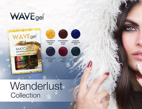 WaveGel Wanderlust Collection - The Nail Art Connection by Tess Walters - Tess Nails.com