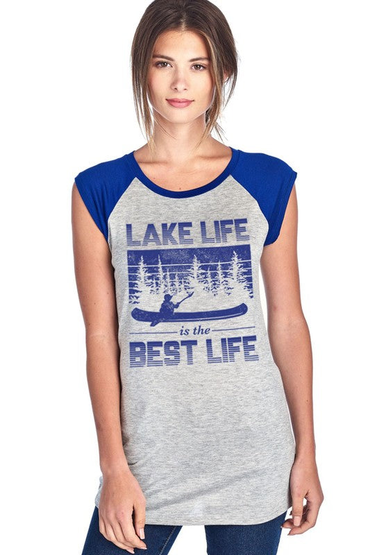 Lake Life is the Best Life T-shirt