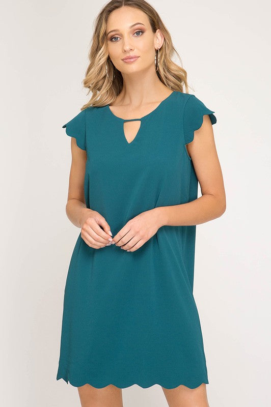 Jodi Scallop Dress