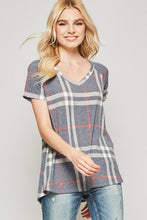 Everyday Plaid T-Shirt