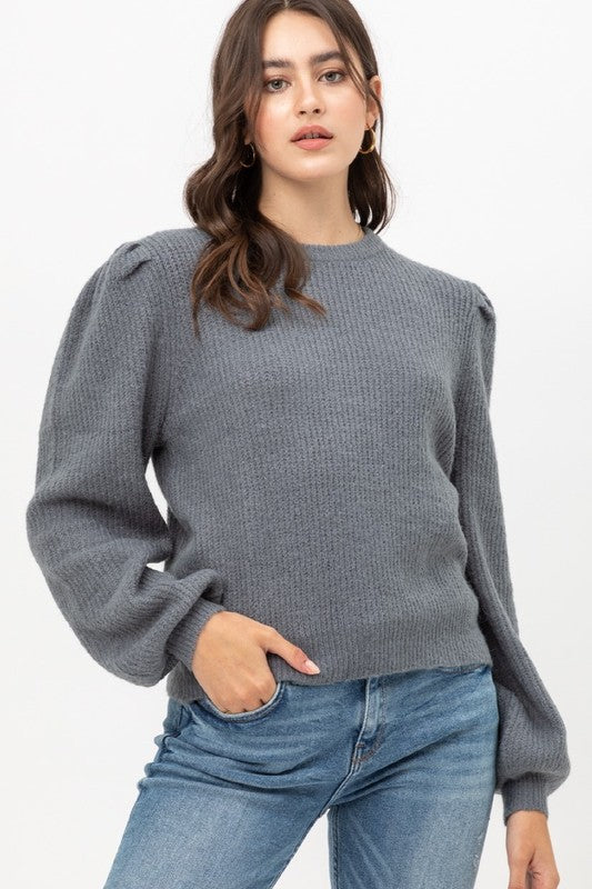 Toni Tweed Sweater