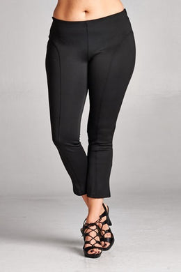 *CURVY* Techno Ankle Pants