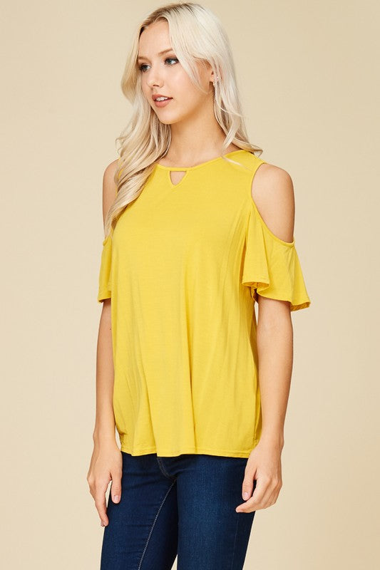 Bamboo Cold Shoulder