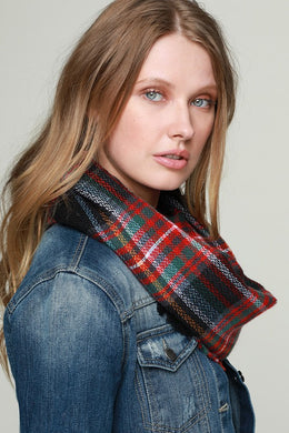 Plaid Winter Scarf