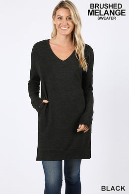Niki Melange Sweater