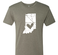 Indiana LOVE T-shirt