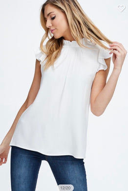 Brynn Mock Neck Top