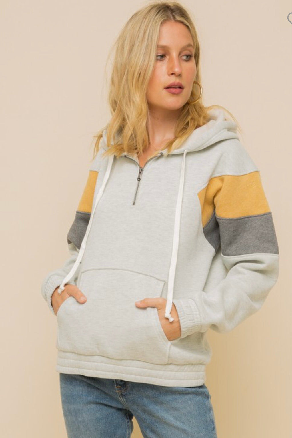 Taylor Zip Up Hoodie Jacket