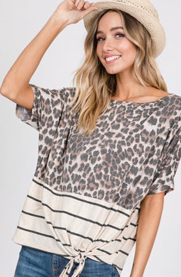 Nash Animal Print Top