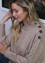 Etta Mocha Sweater
