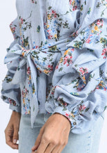 Christine Floral Top