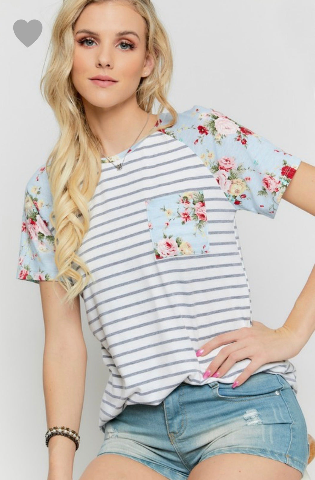 Amy Floral Top