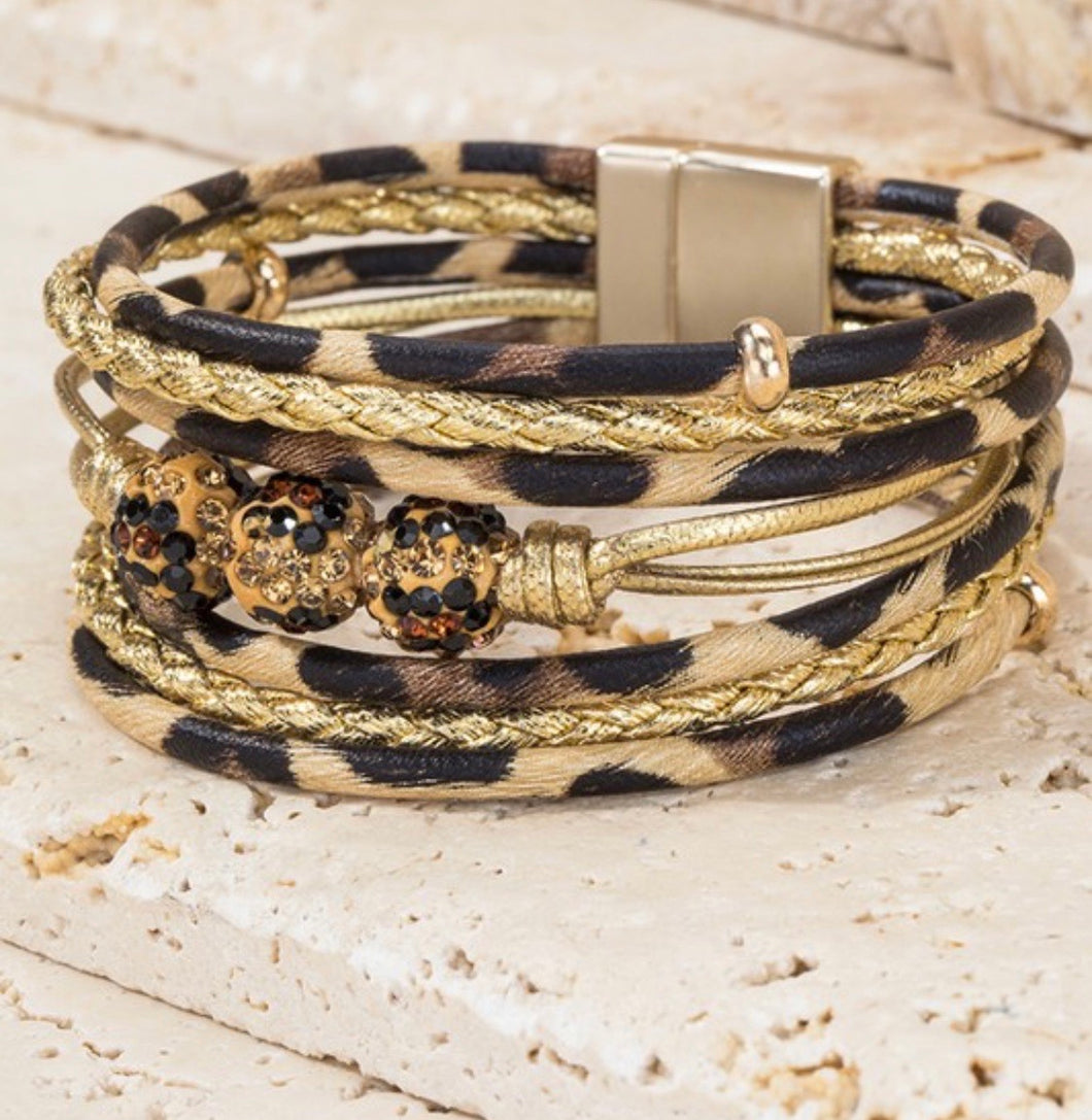 Magnetic Closure Wrap Bracelet