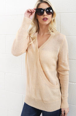 Amy V-Neck Sweater