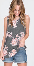 Pipe Floral and Stripe Tank