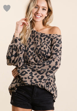 Gloria Leopard Sweater