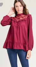 Meghan Ruffle Lace Top