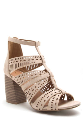 Stone Cut Out Sandal