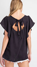 Chelsea Ribbon Tie Back Top