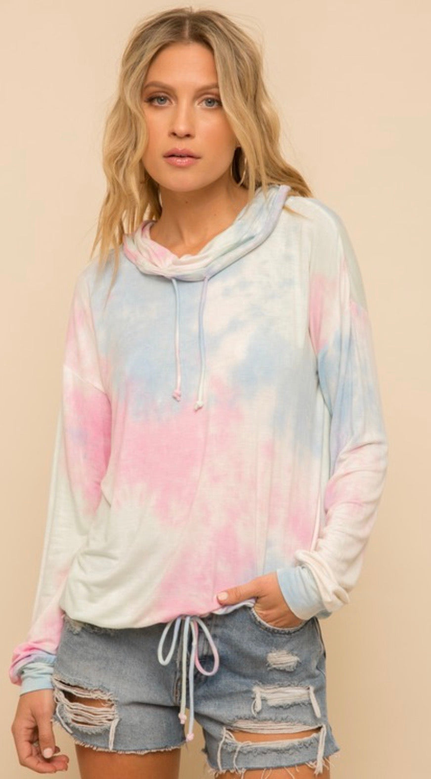 Malina Soft Tie Dye Pull Over