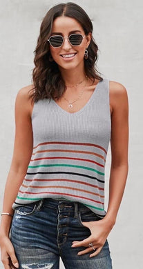 Fayette Sleeveless Sweater