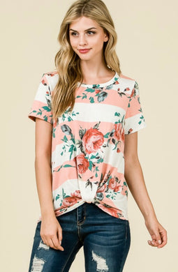 Kylie Blush Floral Top