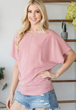 Leila Boat Neck Knit Top