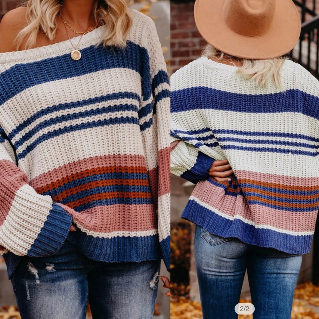 Everything Striped Sweater