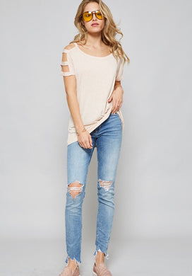 Belle Cutout Top