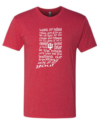Indiana Fight Song T-Shirt