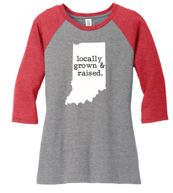 Locally Grown Raglan Shirt