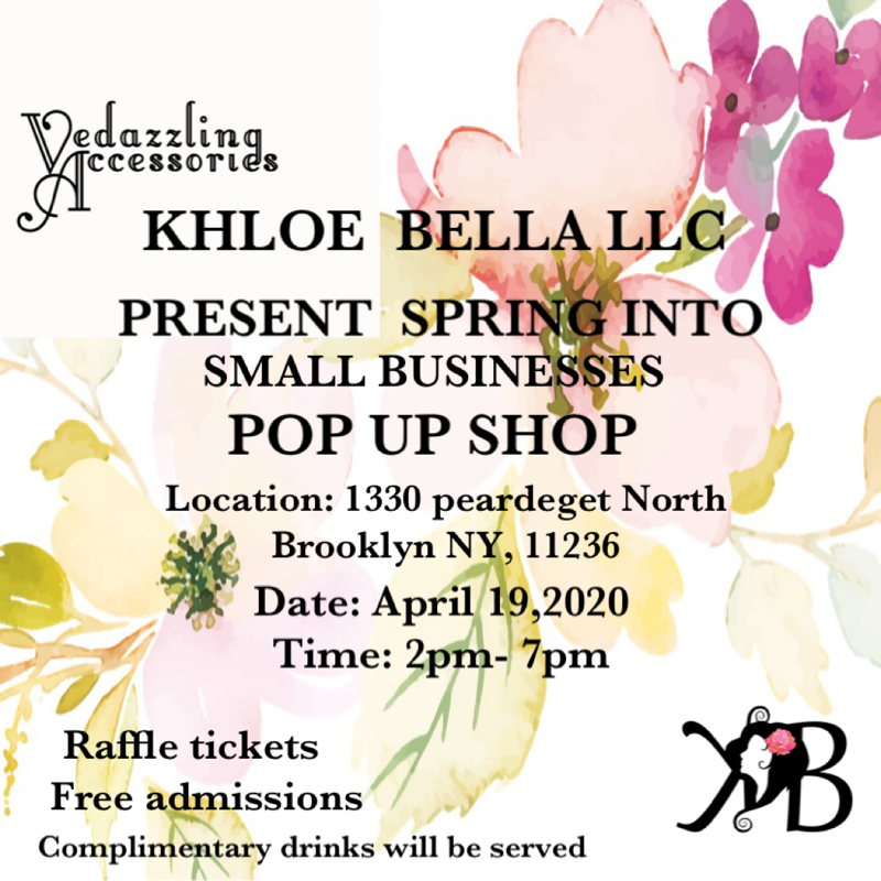 Vedazzling Spring POP UP